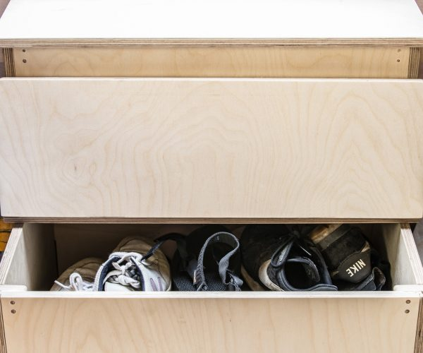 Everything Goes - Storage Steps with content - shoe / trainer storage