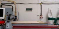 CNC fabrication machine at MADA WORKSHOP
